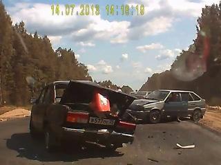 ДТП на трассе Вологда-Новая Ладога 14.07.2013.